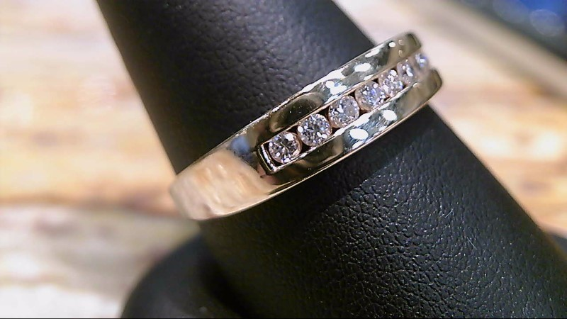 GENTS 14K YELLOW GOLD 10-ROUND DIAMONDS RING