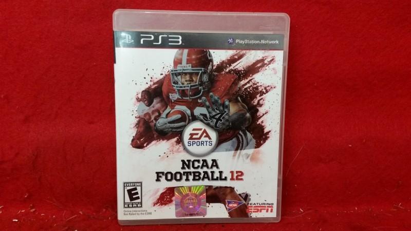 NCAA Football 12 (Sony PlayStation 3, 2011)