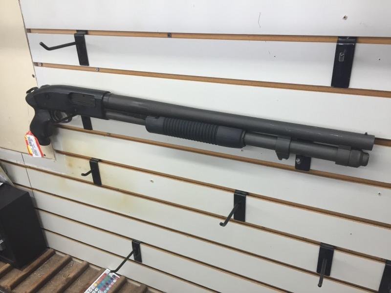 MOSSBERG 590 SHOTGUN-PUMP MOSSBERG 12 GA.  BLACK