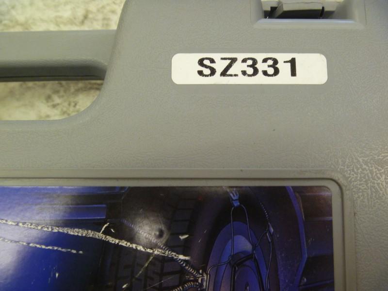 SCC SZ331 SHUR GRIP Z PASSENGER CAR TIRE TRACTION CHAINS - SET OF 2