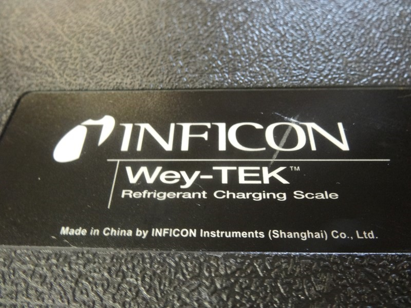 INFICON Scale WEY-TEK REFRIGERANT CHARGING SCALE