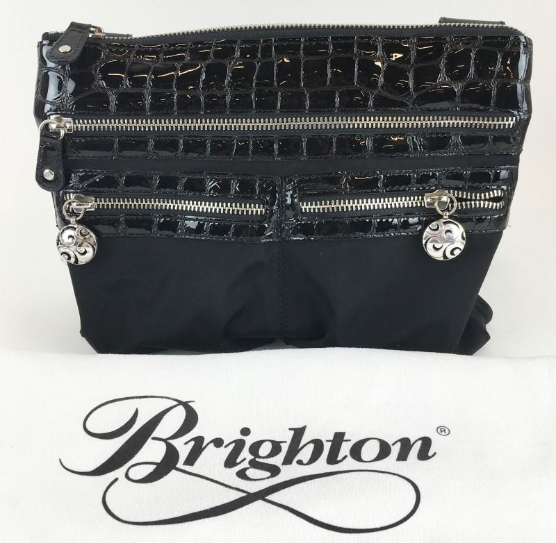 BRIGHTON NYLON CROSSBODY SHOULDER BAG