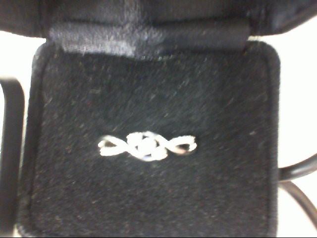 Gent's Diamond Fashion Ring 13 Diamonds .27 Carat T.W. 10K White Gold 2.5g