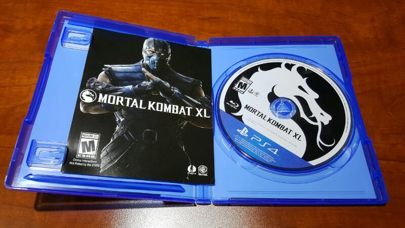 WARNER BROTHERS Sony PlayStation 4 Game MORTAL KOMBAT XL