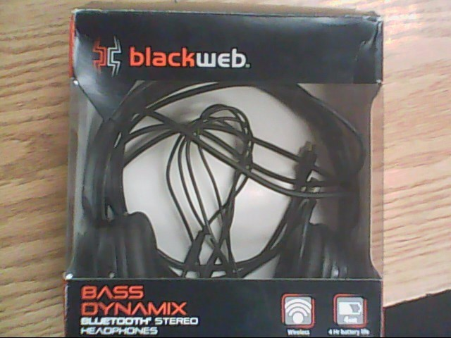 BLACKWEB Headphones BWA15AA003