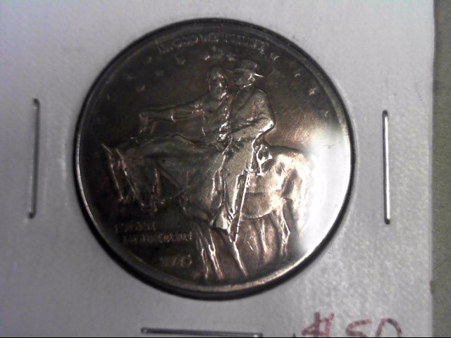 UNITED STATES Silver Coin 1925 STONE MOUNTAIN HALF DOLLAR