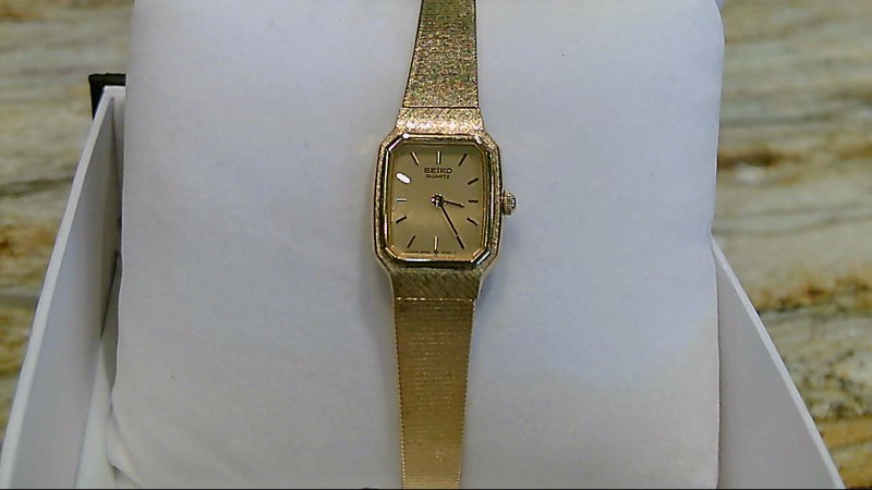LADY'S SEIKO GOLD PLATED WATCH