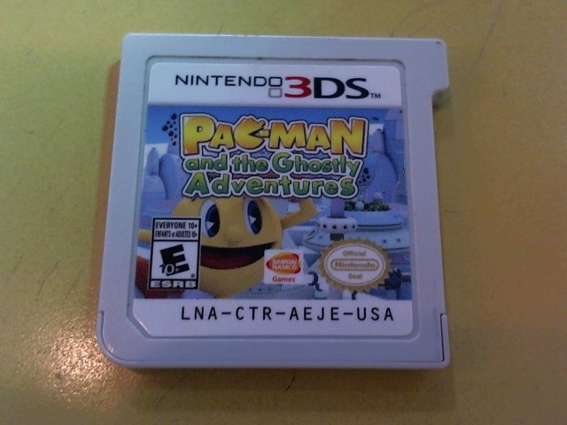 NINTENDO Nintendo 3DS Game PAC-MAN GHOSTLY ADVENTURES