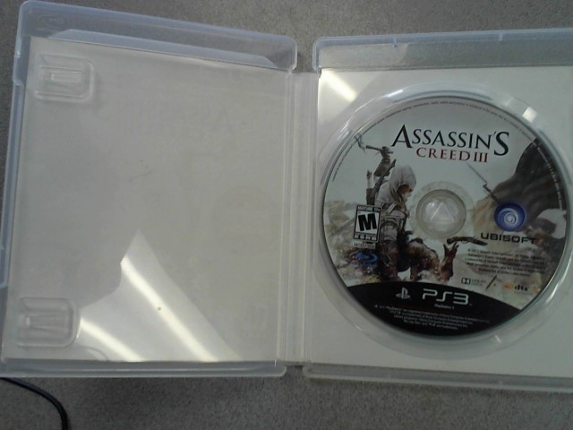 SONY Sony PlayStation 3 Game ASSASSINS CREED III