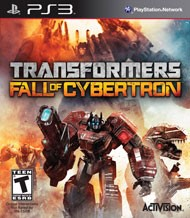 SONY PlayStation 3 Game TRANSFORMERS FALL OF CYBERTON PS3 TRANSFORMERS FALL