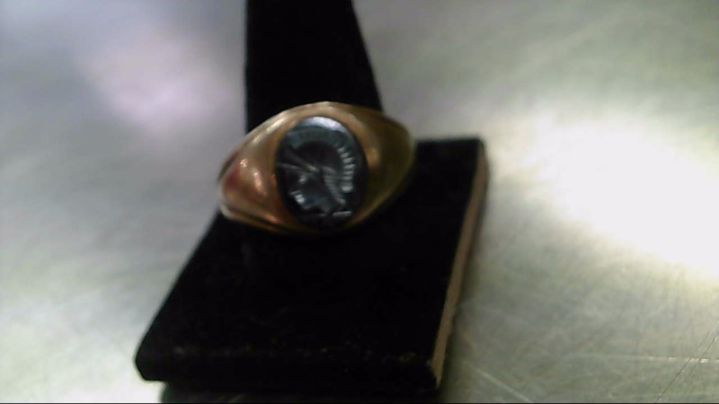 Gent's Gold Ring 10K Yellow Gold 10.3g