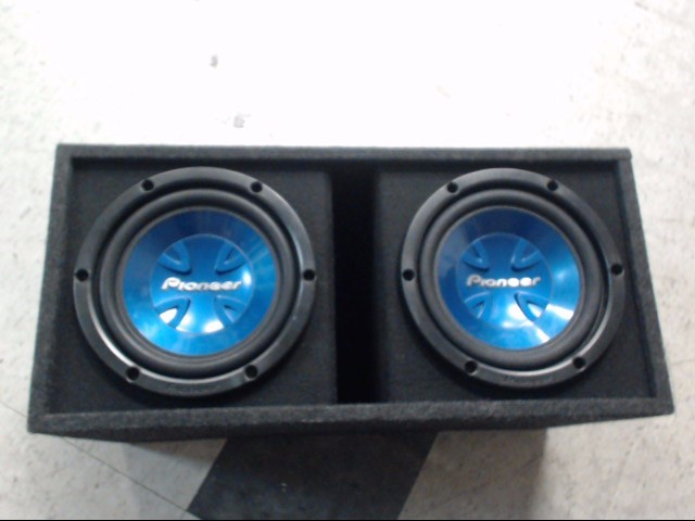 "PIONEER ELECTRONICS Speakers/Subwoofer 2X10"" SUBS IN BOX"