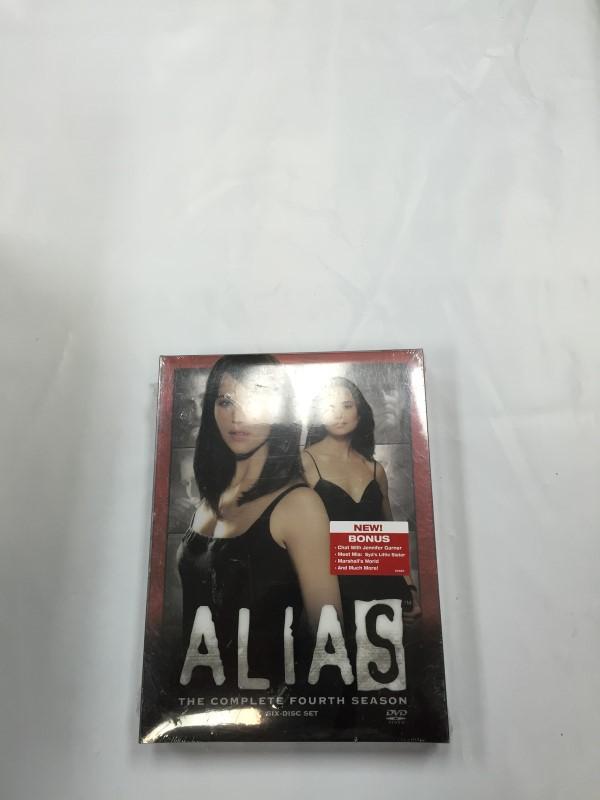 ALIAS THE COMPLETE FOURTH SEASON Dvd Box Set Brand New!!