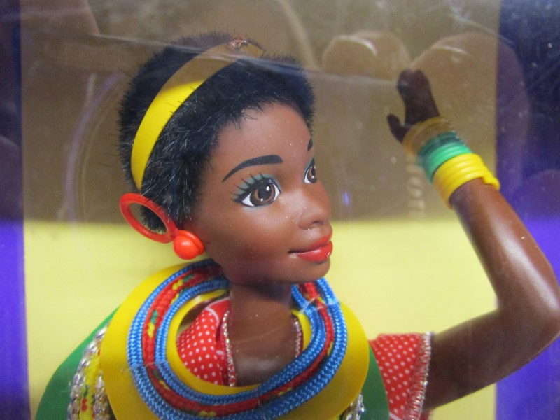 MATTEL Doll KENYAN BARBIE