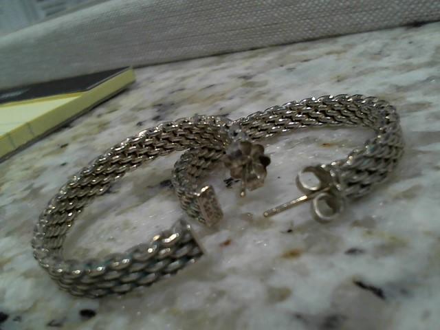 Silver Earrings 925 Silver 11.3g