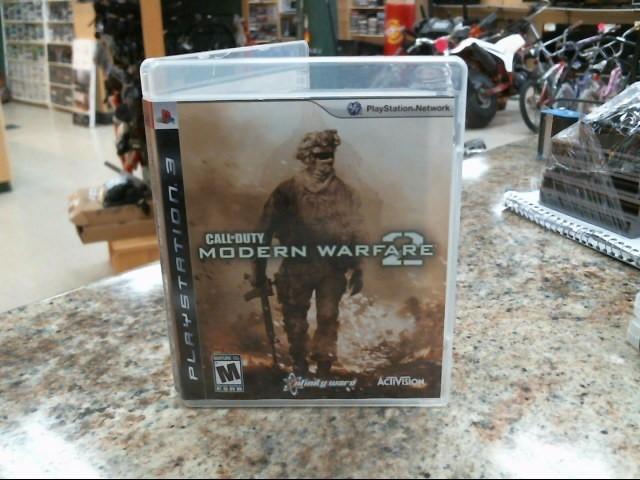 SONY Sony PlayStation 3 Game CALL OF DUTY MODERN WARFARE 2 - MW2 - PS3