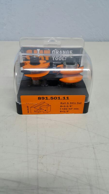CMT Orange Tools Router Bit 891.501.11 BRAND NEW