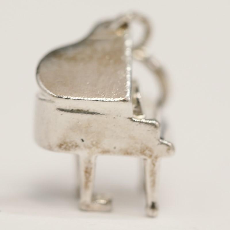 Sterling Silver Classic Piano Pendant