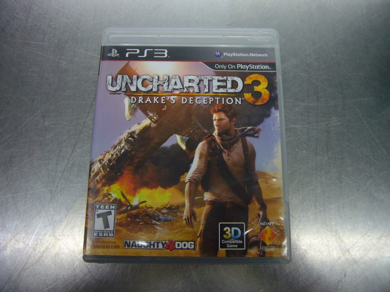 SONY PlayStation 3 Game UNCHARTED 3 - DRAKES DECEPTION