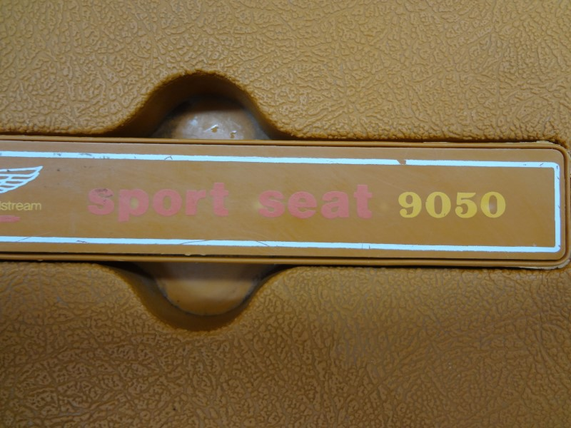 FENWICK WOODSTREAM SPORT SEAT 9050 VINTAGE FISHING TACKLE BOX CHAIR/STOOL SEAT