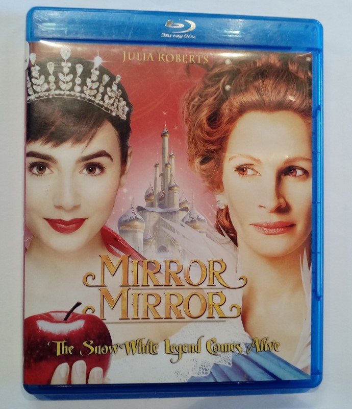 BLU-RAY MOVIE MIRROR MIRROR