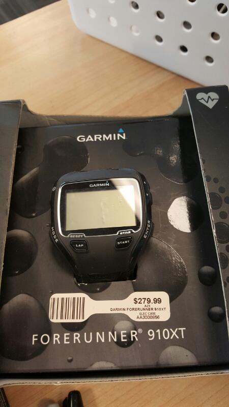 GARMIN Gent's Wristwatch FORERUNNER 910XT