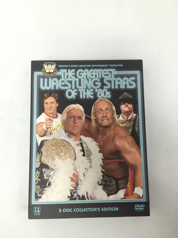 WWE GREATEST WRESTLING STARS OF THE 80S