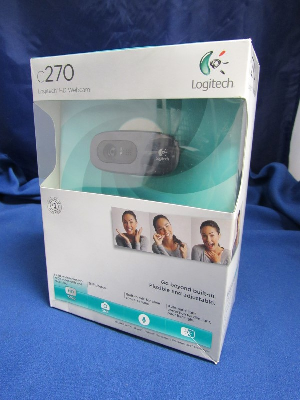 LOGITECH C270 VIDEO CALLING WEB CAM