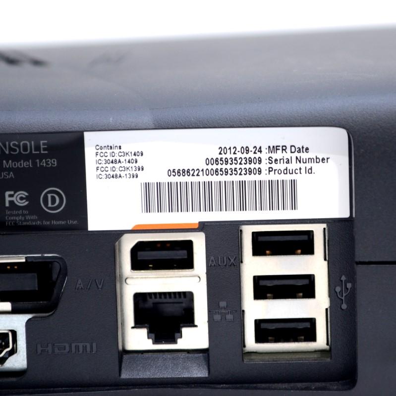 Microsoft Xbox 360 S Console 250GB Black Game System Bundle (1439)>