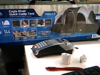 NORTHWEST TERRITORY Outdoor Sports EAGLE RIVER QUICK CAMP TENT