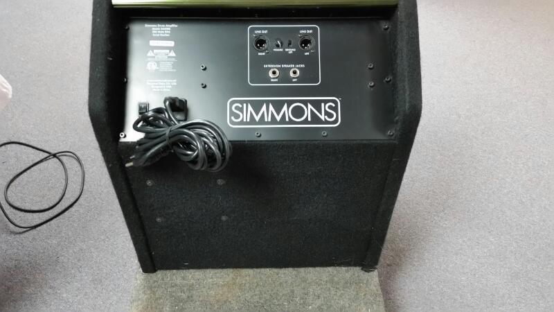 SIMMONS PERCUSSION AMP DA200S, DRUM SET MONITOR