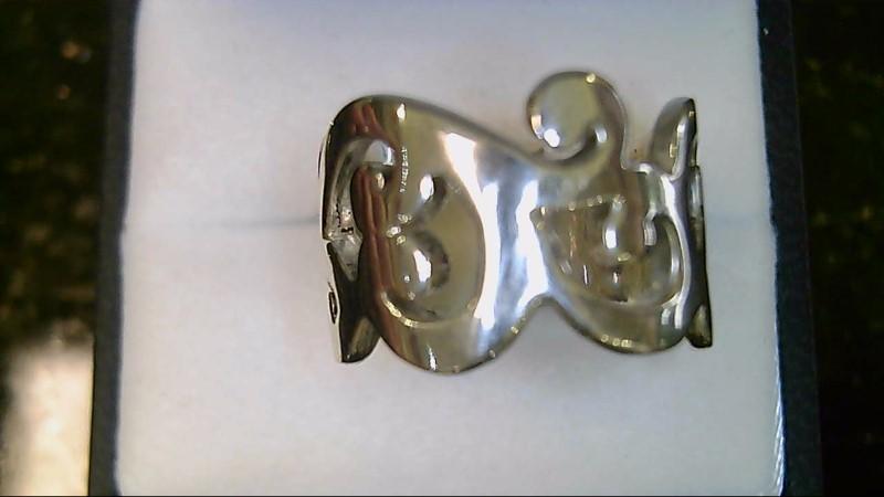 lady's sterling silver 925 silpada swirl ring