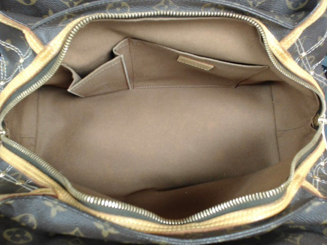 LOUIS VUITTON Handbag LIMITED EDITION RIVETING SATCHEL