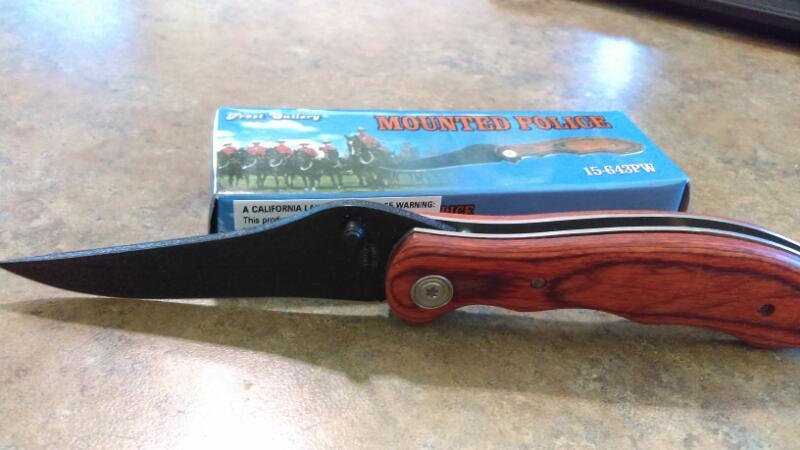 FROST CUTLERY Pocket Knife 15-643PW
