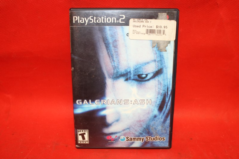 Galerians: ASH (Sony PlayStation 2, PS2) Tested! Good Condition! RARE!