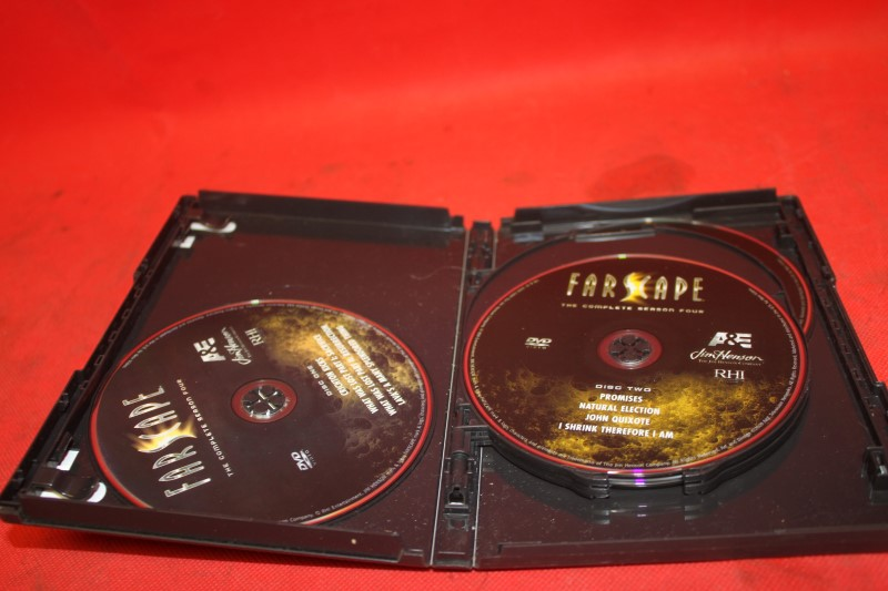 Farscape: The Complete Season Four (DVD, 2009, 6-Disc Set) FREE SHIPPING!