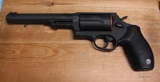 """TAURUS Revolver JUDGE M4510 6.5"""" BL"""