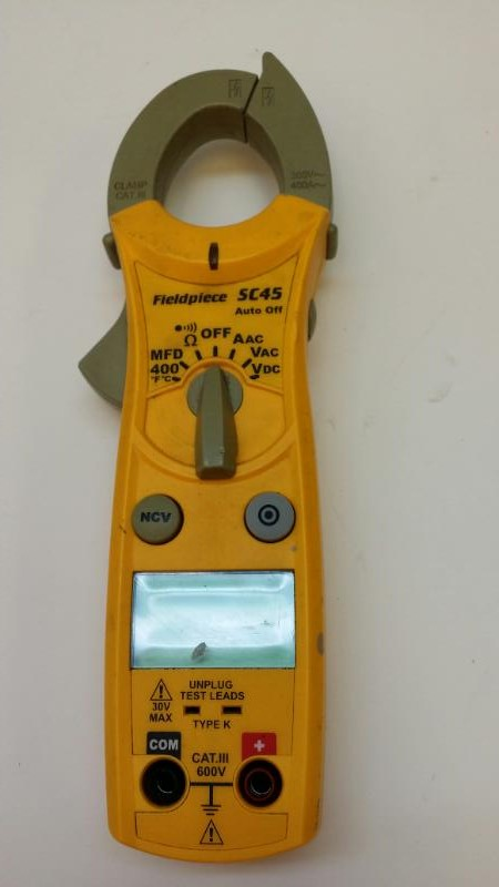 FIELDPIECE SC45 MULTIMETER]