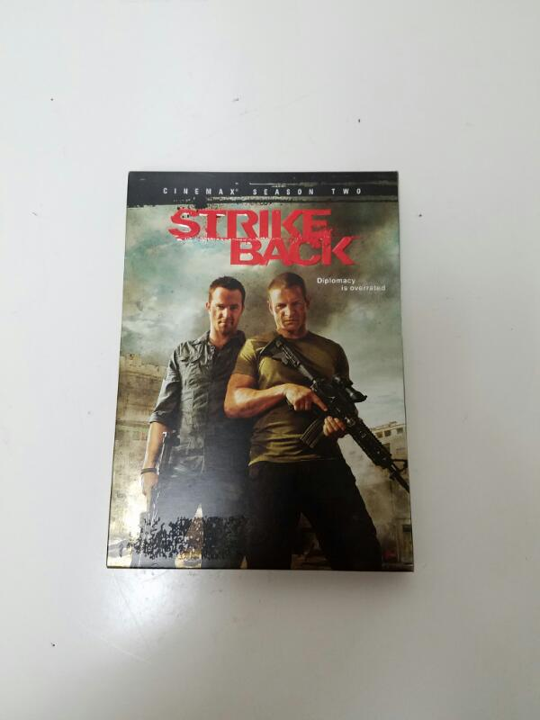 Strike Back Season 2 on DVD