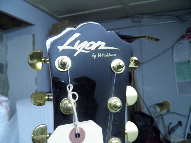 WASHBURN Electric Guitar LYON LI15