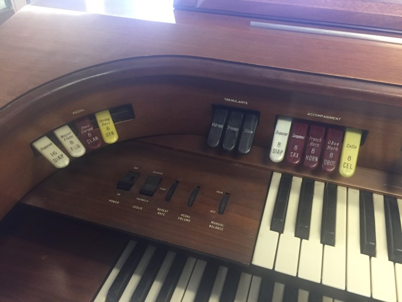 THOMAS ORGAN CO Piano/Organ 545
