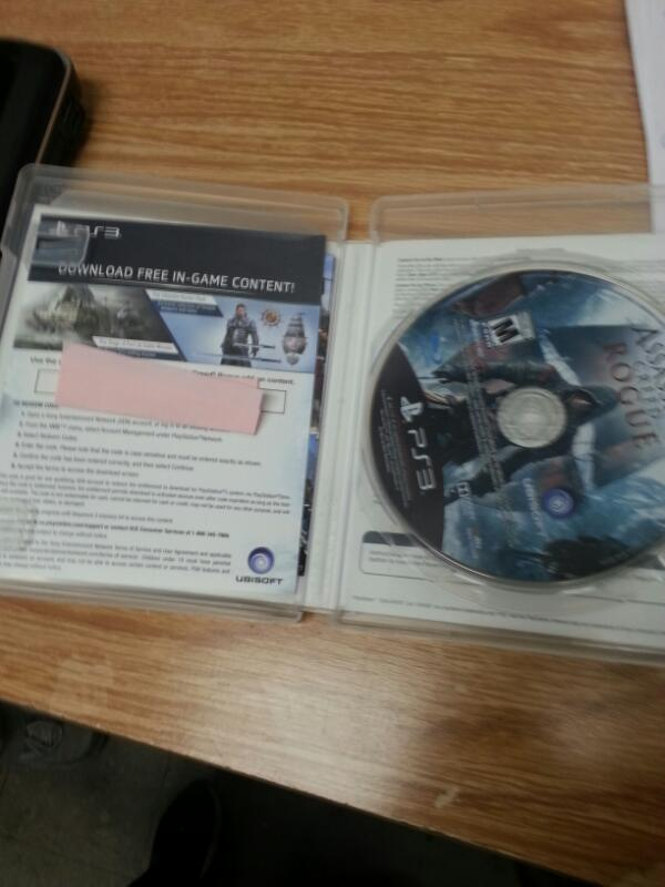 SONY Sony PlayStation 3 Game ASSASSINS CREED ROGUE
