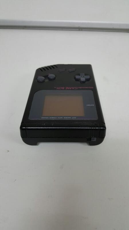 1989 Nintendo Game Boy Console (DMG-01, Black / Purple)