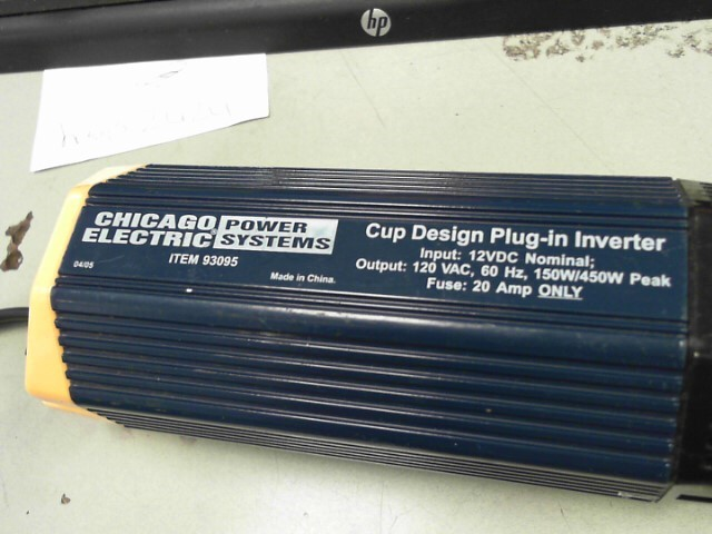 CHICAGO ELECTRIC Battery/Charger 93095