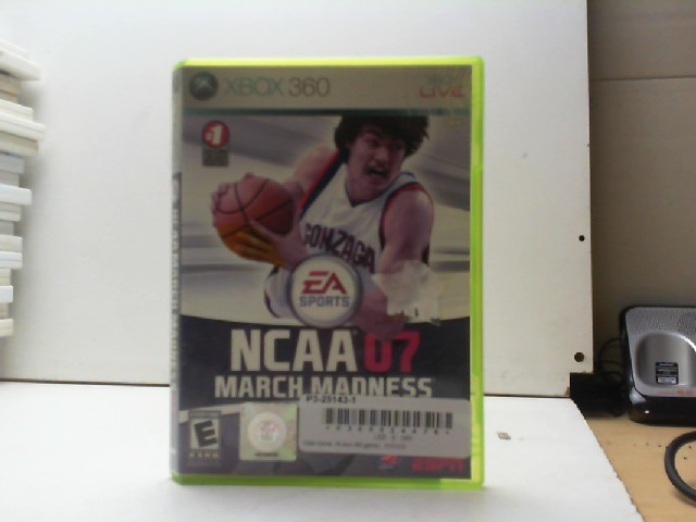 MICROSOFT Microsoft XBOX 360 Game NCAA 07 MARCH MADNESS