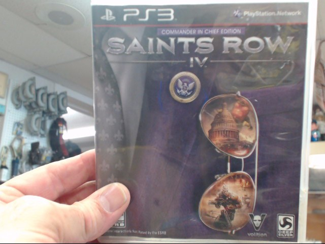 SONY Sony PlayStation 3 Game PS3 SAINTS ROW IV