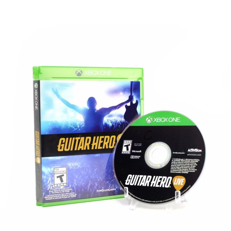 Microsoft Xbox One Guitar Hero Live Game & Guitar Controller Bundle