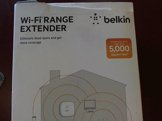 BELKIN WI-FI RANGE EXTENDER F9K1015