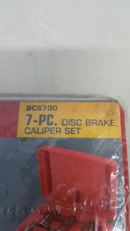 Mac Tools BCS700 7pc. Disc Brake Caliper Socket Set- NEW
