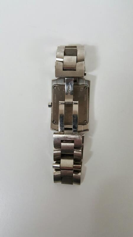 Movado Mens Square Face Stainless Steel Bracelet Watch 84-C1-455